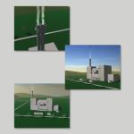 3D-Modell und Animation eines Müllheizkraftwerks
