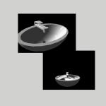 3D-Modell Waschbecken