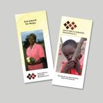 Flyer für den Verein Hilfe zur Selbsthilfe Munyu/Kenia e.V., www.munyu.de