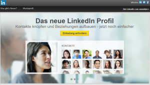 LinkedIn-Profil anlegen